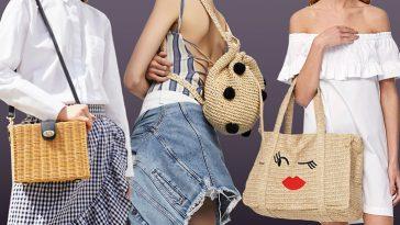 соломеные сумки