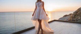 Свадебные платья для невысоких девушек
