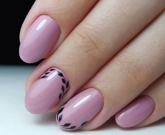 дизайн ногтей овальной формы короткие фото