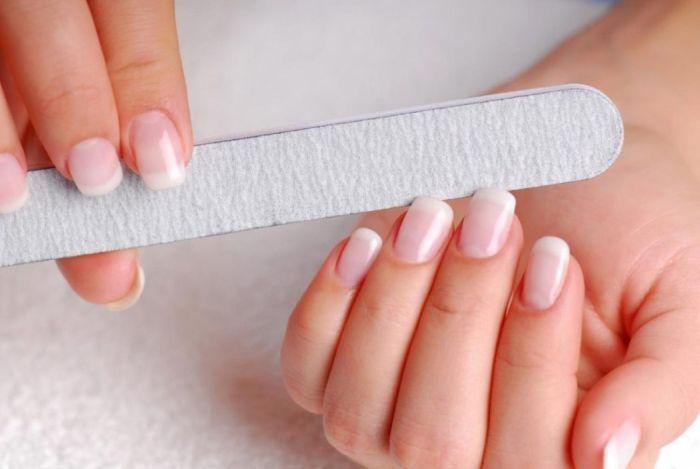 как пилить ногти