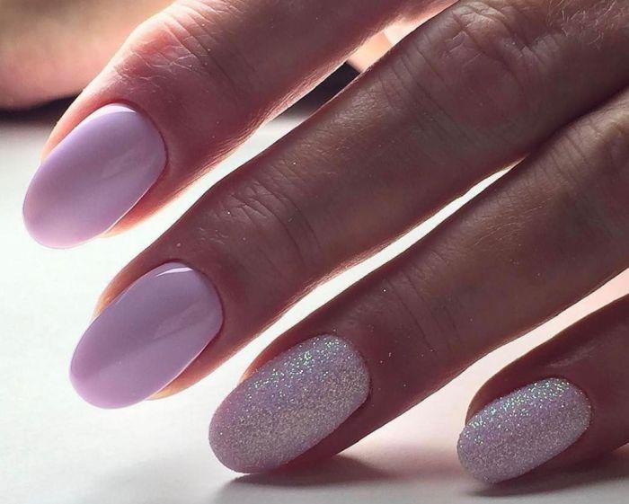 дизайн ногтей на короткие ногти овальной формы для девушек