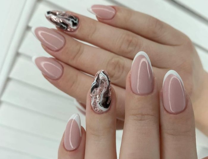 овальные ногти как накрасить