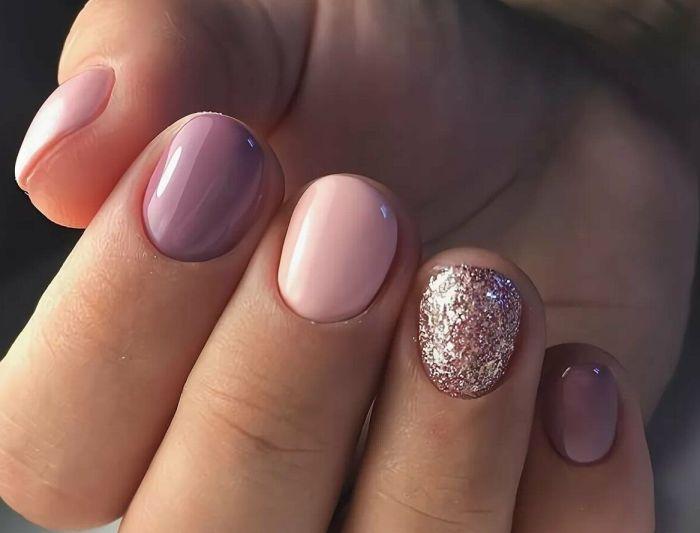 короткие круглые ногти
