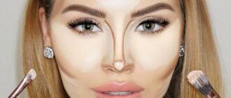 как наносить контуринг на лицо