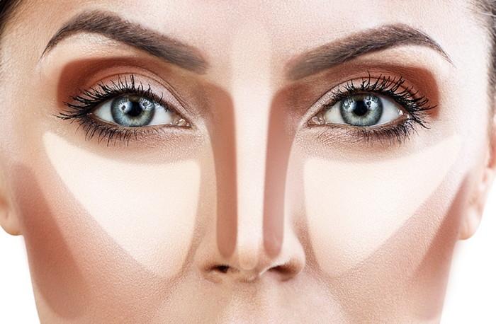 контуринг зоны глаз для начинающих