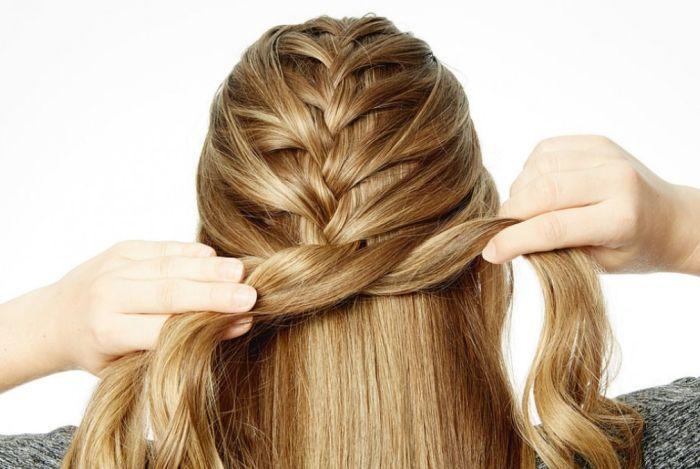 как заплести косу пошагово