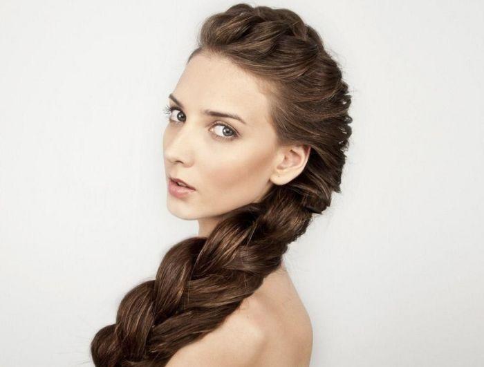 прическа с косами фото