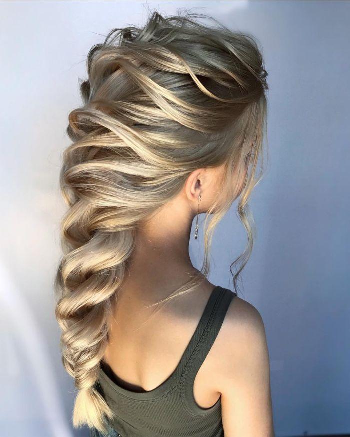 красивая коса для девушки
