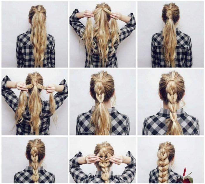 способ заплести косу для женщины