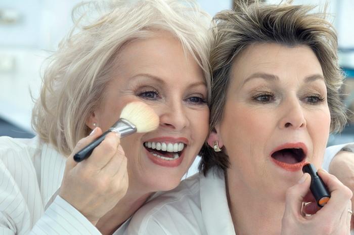 омолаживающий макияж для лица