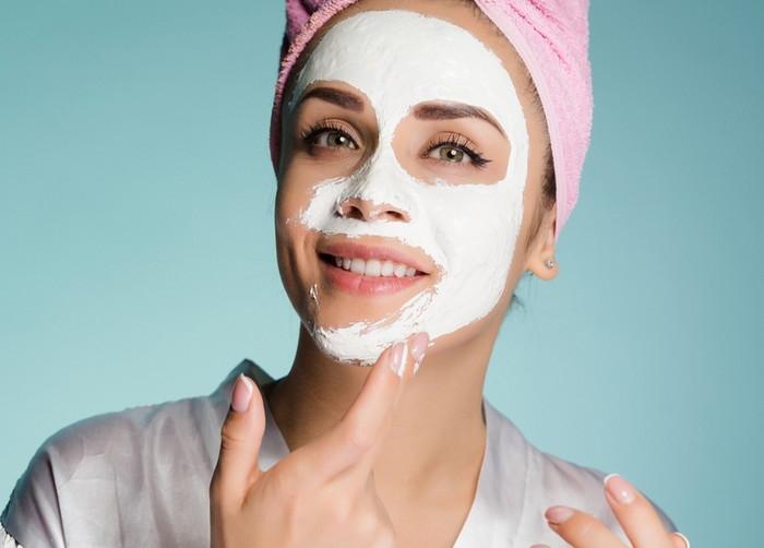 крахмальные маски для лица дома