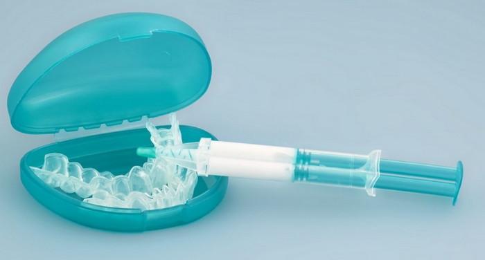 капа для домашнего отбеливания зубов